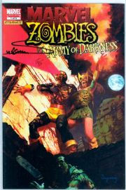 Marvel Zombies vs. Army of Darkness #1 Variant Dynamic Forces Signed Suydam Ltd 50 DF AOD